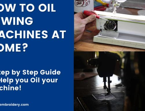 How to Oil Sewing Machines at Home?