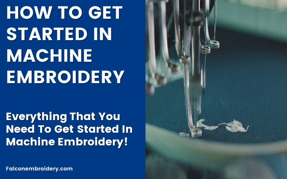 Get Started in Machine Embroidery