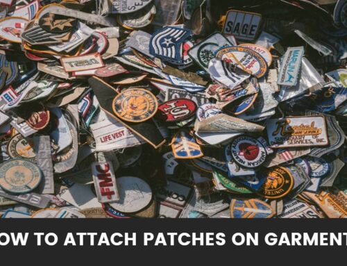 How to Attach Patches on Garments