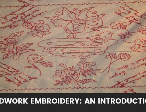 Redwork Embroidery: An Introduction