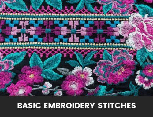 Beginner's Guide to Embroidery Stitches