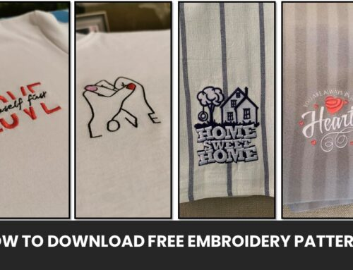 How to Download Free Embroidery Designs