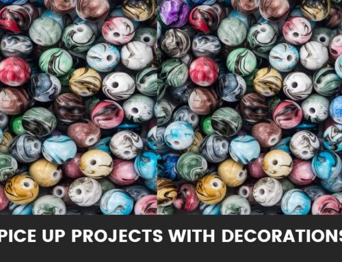 Spice up Projects with these Decorations!