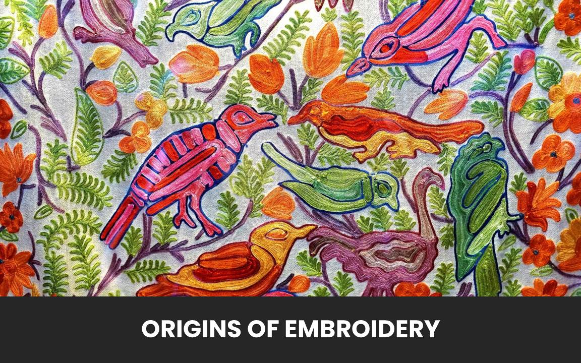 A Picture of an Embroidered Cloth