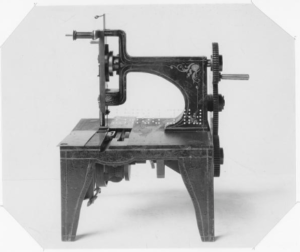This machine proves the history of Embroidery