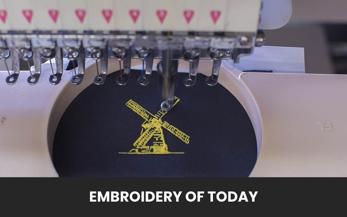 Featured image of Embroidery of today