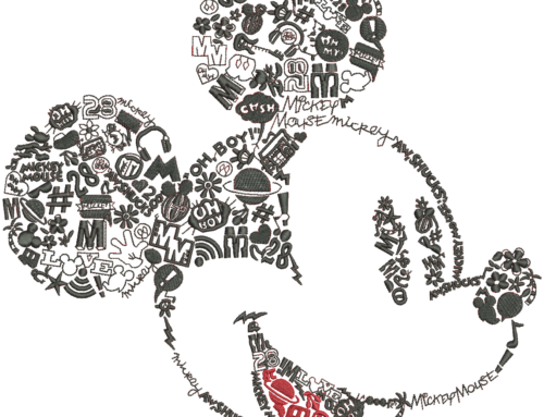 Micky Mouse Embroidery Design