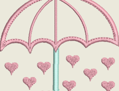 Hearts Under Umbrella