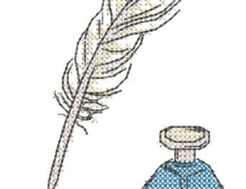 Feather & Ink Cross-Stitch