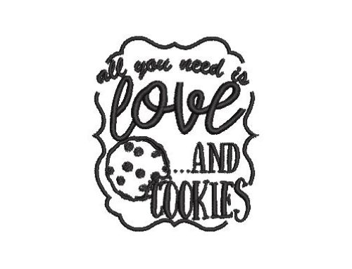 All You Need is Cookies & Love
