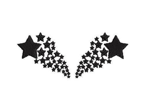 Star Fill Embroidery Design