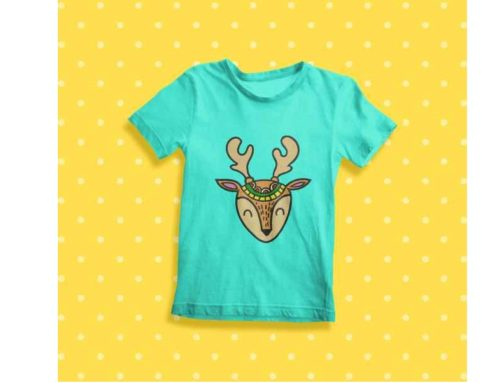 Ethnic Deer Embroidery pattern