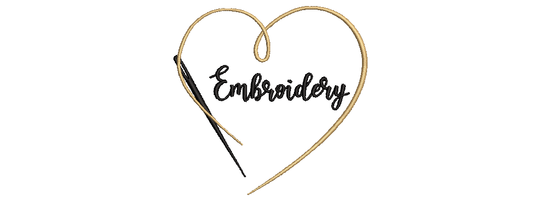 Love Embroidery Small