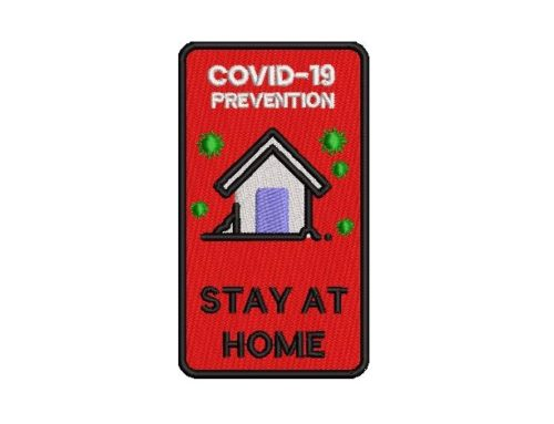 Stay At Home Embroidery Pattern