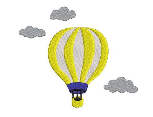 Parachute Embroidery Design