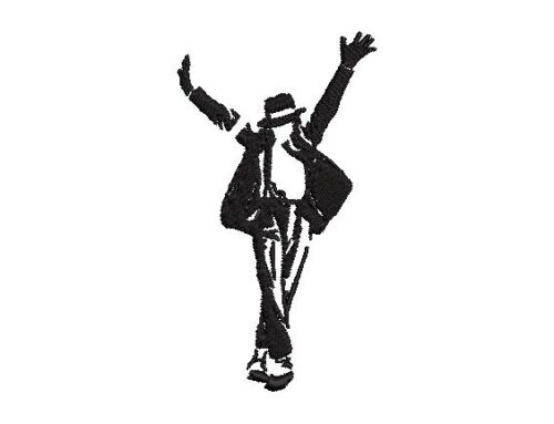 Michael jackson Embroidery Pattern