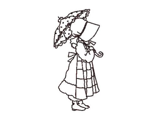 New Sunbonnet Sue Embroidery Design