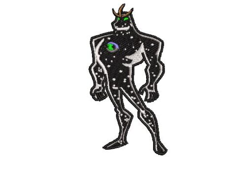 Ben 10 Alien X Embroidery Design