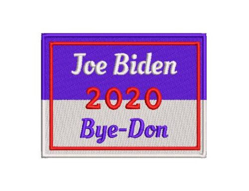 Joe Biden Bye Embroidery Design