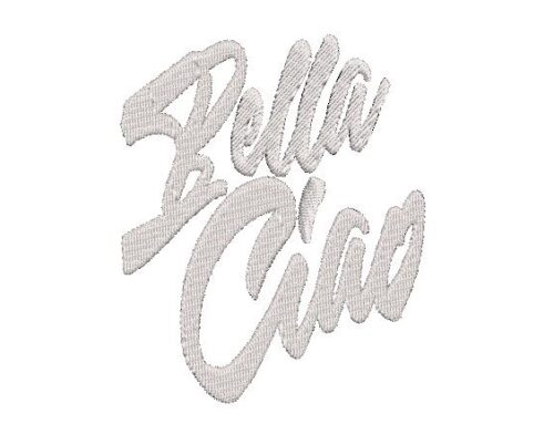 Bella Ciao Embroidery Pattern