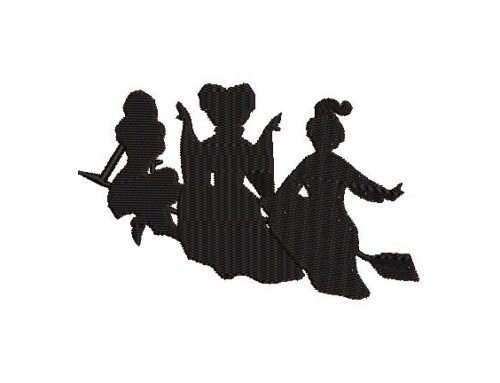 Girls On Broom Design