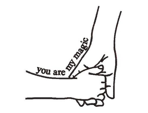 You Are My Magic Embroidery Pattern