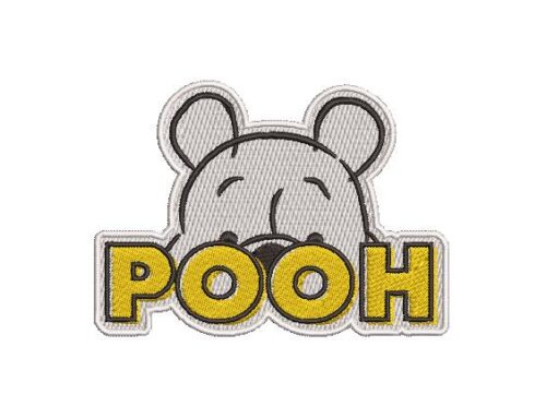 POOH Embroidery Pattern