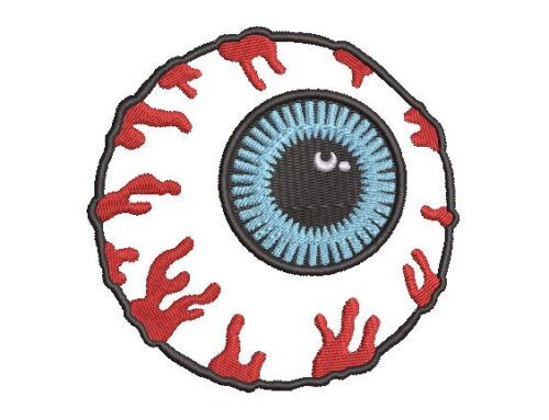 Eye Embroidery Pattern