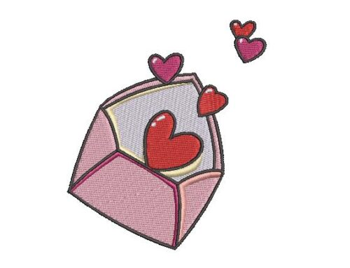 Love Letter Embroidery Pattern