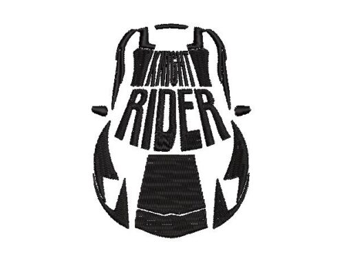 Knight Rider Embroidery Design