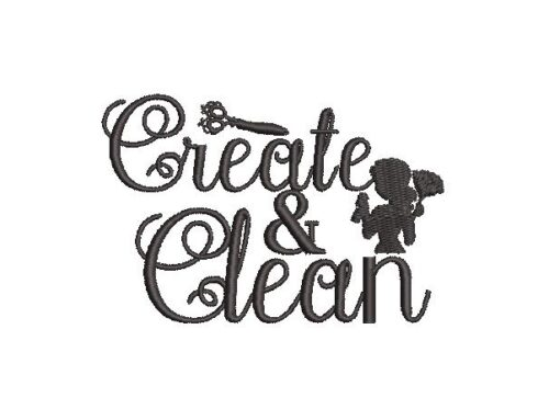 Create and Clean Embroidery Design